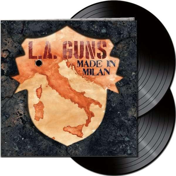L.A. GUNS - Made In Milan - Ltd. Gatefold BLACK 2-LP