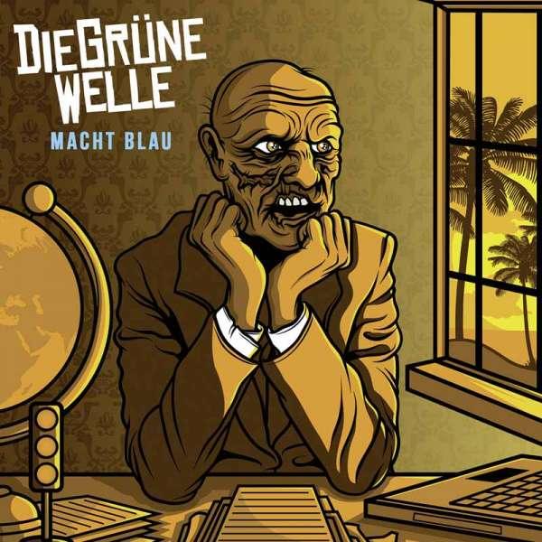 DIE GRÜNE WELLE - Macht Blau - CD (Jewelcase)