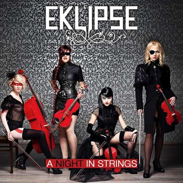 EKLIPSE - A Night In Strings - Ltd. Digipak-CD
