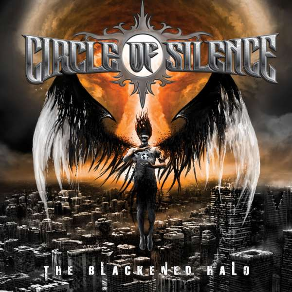 CIRCLE OF SILENCE - The Blackened Halo - CD Jewelcase