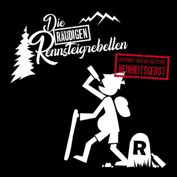 """EISREGEN - Die Räudigen Rennsteigrebellen - Ltd. WHITE 7"""" Vinyl-EP"""