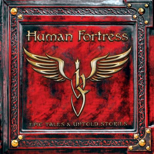HUMAN FORTRESS - Epic Tales & Untold Stories - Ltd. BLACK LP