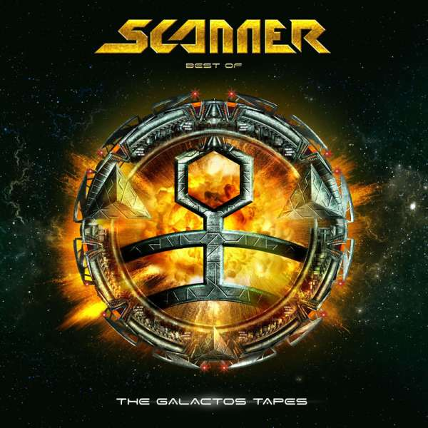 SCANNER - The Galactos Tapes: Best Of - Ltd. Digipak 2-CD