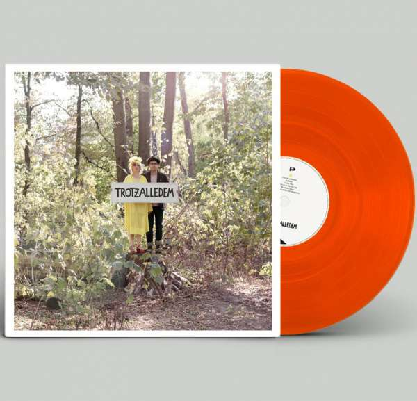 KLEE - Trotzalledem - Ltd. Gatefold SCHUHSCHNABELROT (TRANSPARENT ORANGE) LP
