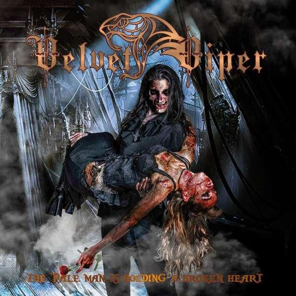 VELVET VIPER - The Pale Man Is Holding A Broken Heart - Ltd. Gatefold BLACK LP