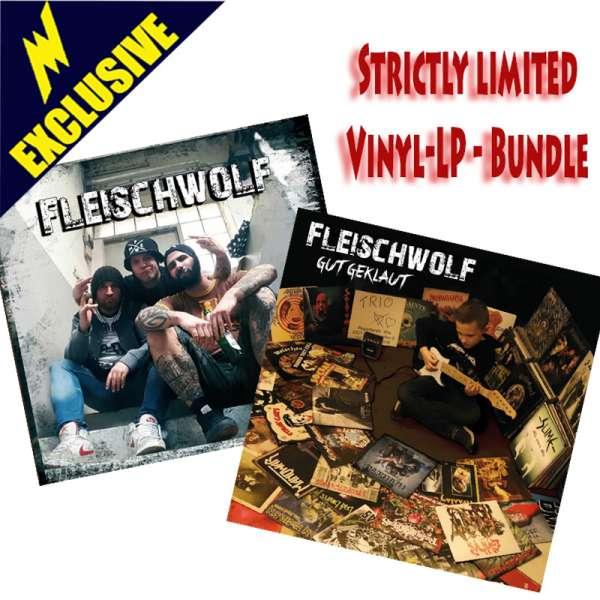 FLEISCHWOLF - Gut Geklaut + Fleischwolf - Ltd. Vinyl-LP Bundle (signed!) - Shop Exclusive!