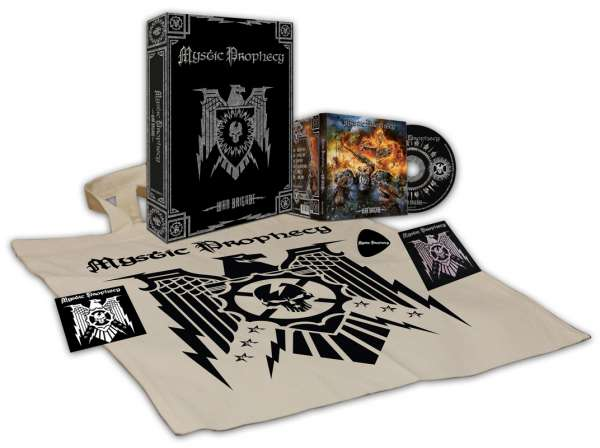 MYSTIC PROPHECY - War Brigade - Ltd. Boxset