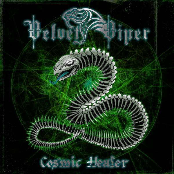 VELVET VIPER - Cosmic Healer - Ltd. GREEN LP