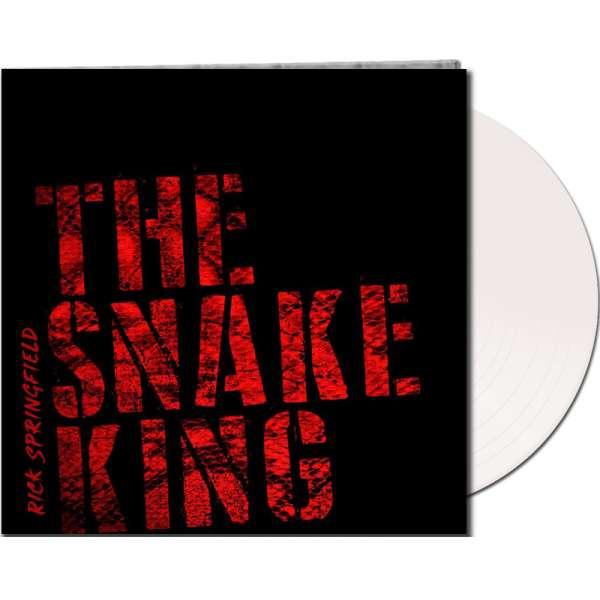 RICK SPRINGFIELD - The Snake King - Ltd. Gatefold WHITE LP - Exclusive!