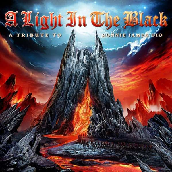 VARIOUS ARTISTS - A Light In The Black (A Tribute To Ronnie James Dio) - 2-CD Jewelcase