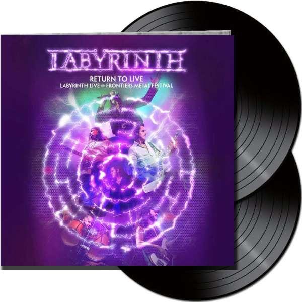 LABYRINTH - Return To Live - Ltd. Gatefold BLACK 2-LP