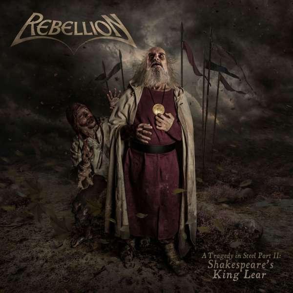 REBELLION - A Tragedy In Steel Part II:Shakespeare's King Lear - Ltd. Digipak-CD