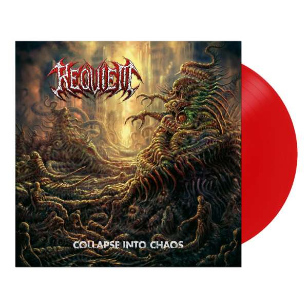 REQUIEM - Collapse Into Chaos - Ltd. RED LP