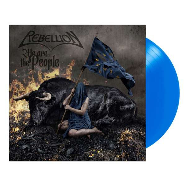 REBELLION - We Are The People - Ltd. MÜRITZ BLUE LP