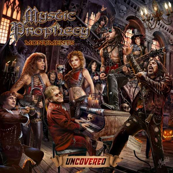 MYSTIC PROPHECY - Monuments Uncovered - CD Jewelcase