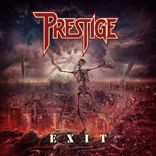"PRESTIGE - Exit/You Weep - Ltd. 7"" RED Vinyl-EP"