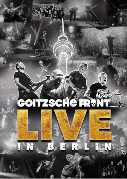 GOITZSCHE FRONT - Live in Berlin - 2-DVD + 2-CD (4 Discs)
