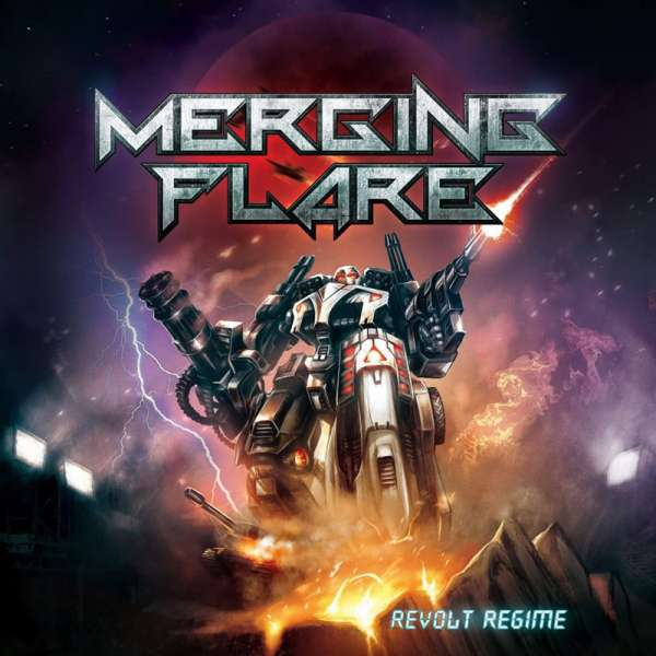 MERGING FLARE - Revolt Regime - CD (Jewelcase)