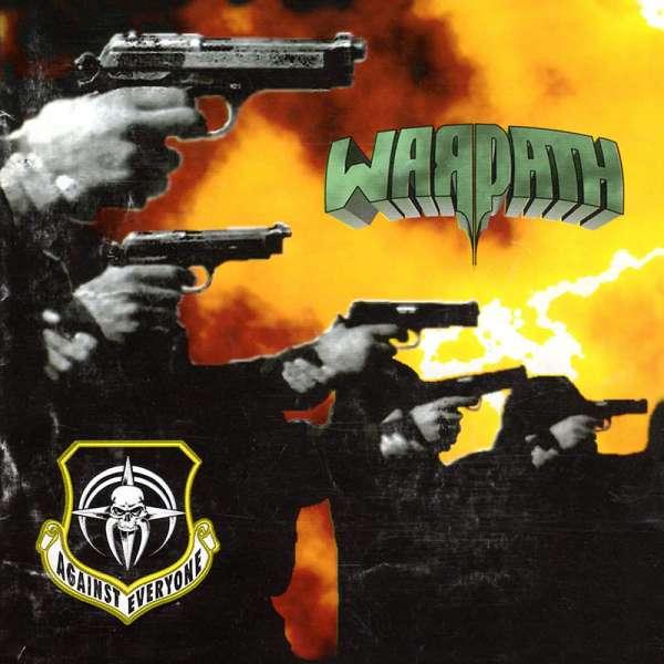 WARPATH - Against Everyone (Re-Release) - CD Jewelcase