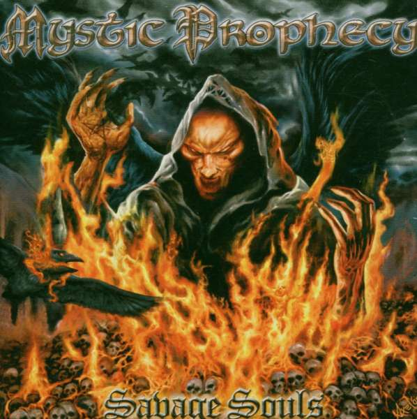 MYSTIC PROPHECY - Savage Souls - CD Jewelcase