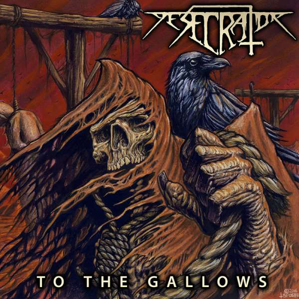 DESECRATOR - TO THE GALLOWS - CD (Jewelcase)