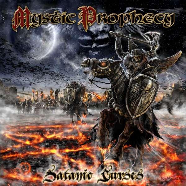 MYSTIC PROPHECY - Satanic Curses - CD Jewelcase
