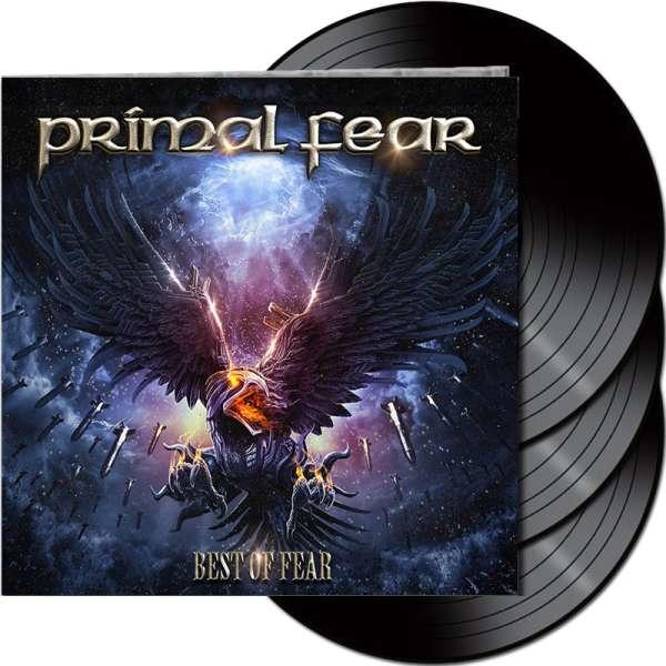 PRIMAL FEAR - Best Of Fear - Ltd. Gatefold BLACK 3-LP