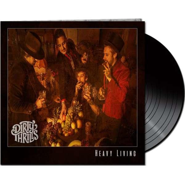 DIRTY THRILLS - Heavy Living - Ltd. Gatefold BLACK LP