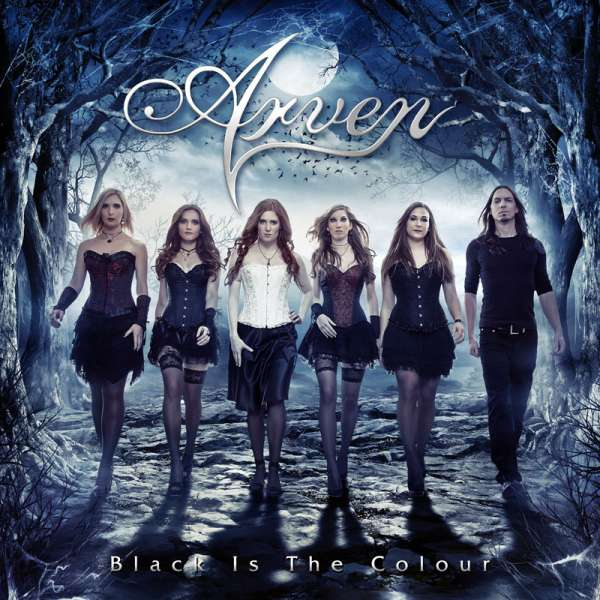 ARVEN - Black Is The Colour - CD Jewelcase