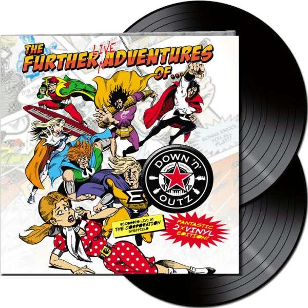 Joe Elliot´s DOWN 'N OUTZ - The Further Live Adventures Of… - Ltd. Gatefold BLACK 2-LP