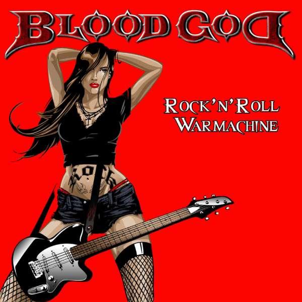 BLOOD GOD - Rock'n'roll Warmachine - Ltd. 3-CD-Digipak