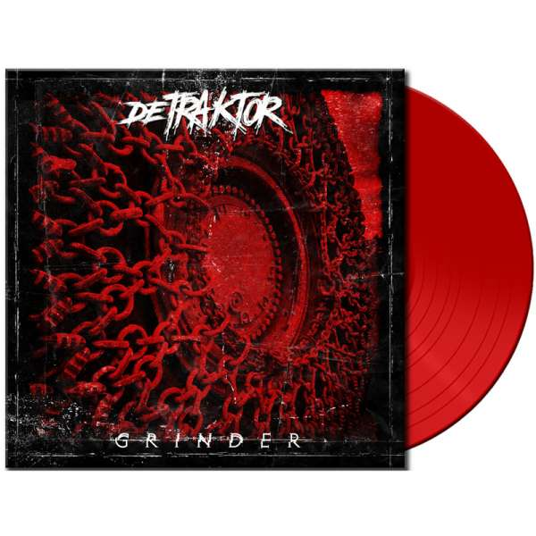 DETRAKTOR - GRINDER - Ltd. Red Vinyl