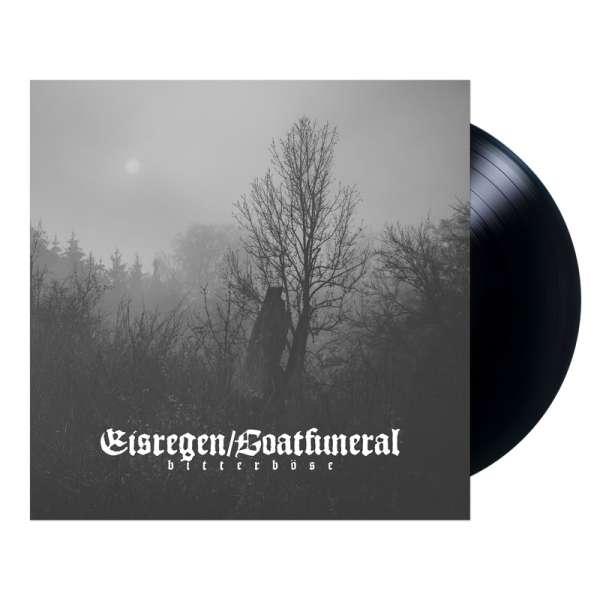 EISREGEN / GOATFUNERAL - Bitterböse - Ltd. BLACK LP