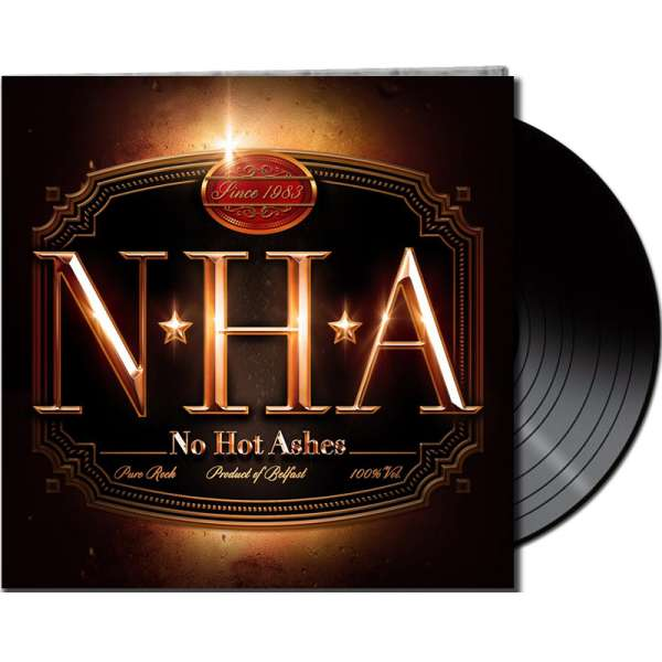 NO HOT ASHES - No Hot Ashes - Ltd. Gatefold BLACK LP