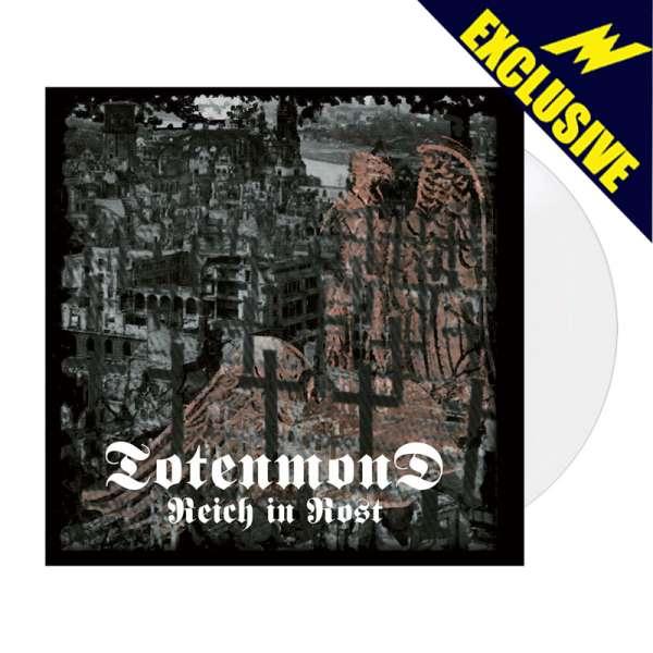 TOTENMOND - Reich in Rost - Ltd. WHITE LP - Shop Exclusive!