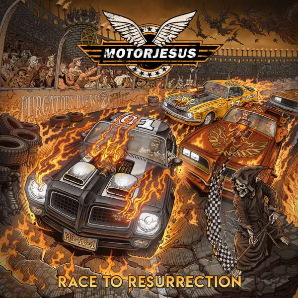 MOTORJESUS - Race To Resurrection - Digipak-CD