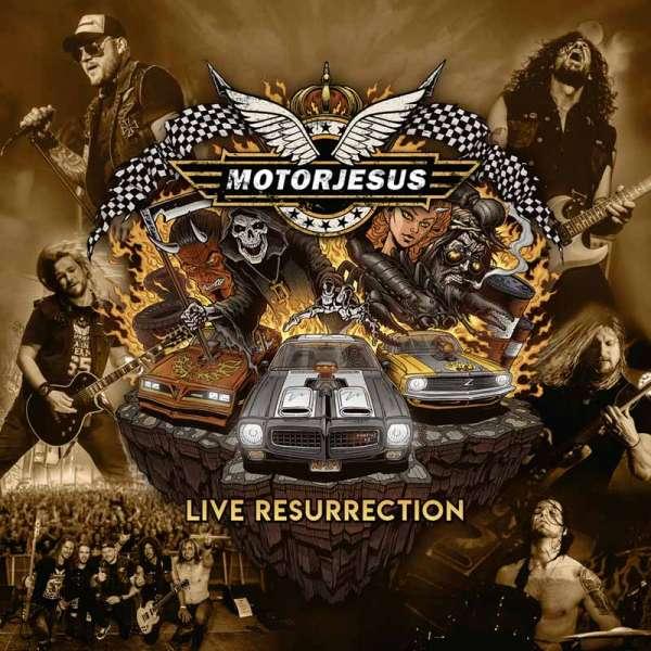 MOTORJESUS - Live Resurrection - Ltd. Gatefold CLEAR ORANGE 2-LP