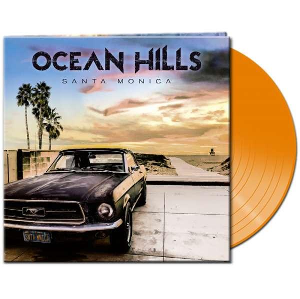 OCEAN HILLS - Santa Monica - Ltd. Gtf. Clear Orange Vinyl