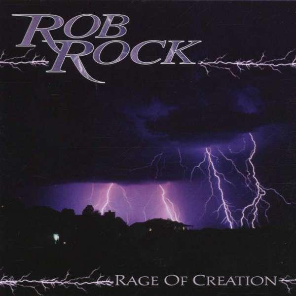 ROB ROCK - Rage Of Creation - CD Jewelcase