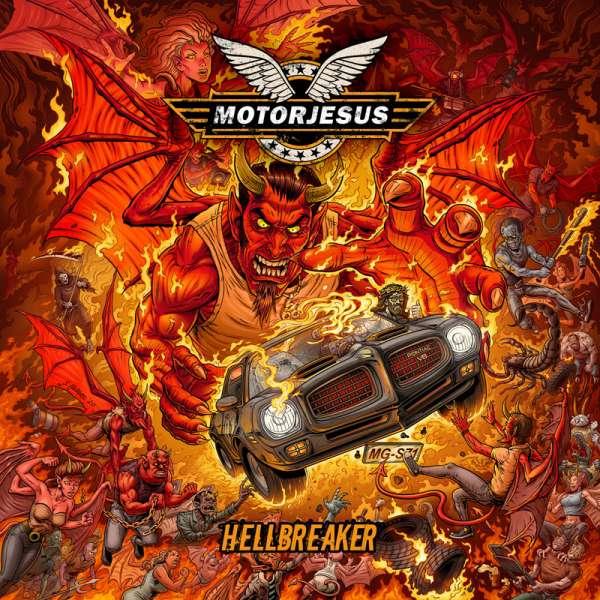 MOTORJESUS - Hellbreaker - CD Jewelcase