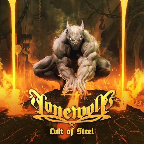LONEWOLF - Cult Of Steel - CD Jewelcase