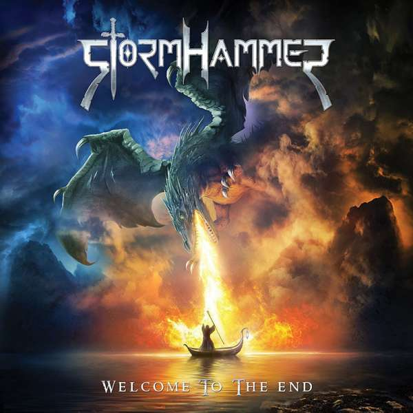 STORMHAMMER - Welcome To The End - CD Jewelcase