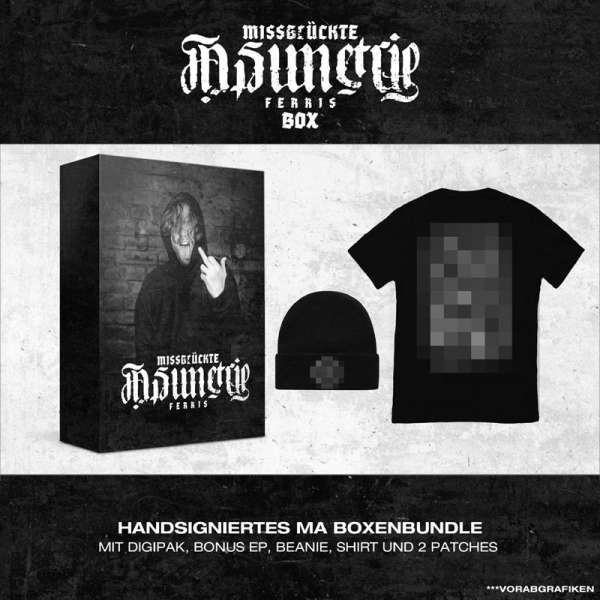 FERRIS - Missglückte Asimetrie - Ltd. Boxset incl. T-Shirt Sizes S-XXL