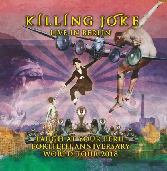KILLING JOKE - Laugh At Your Peril - Live In Berlin - Ltd. Deluxe Gatefold COLOURED 3-LP (RSD2020 Edition)