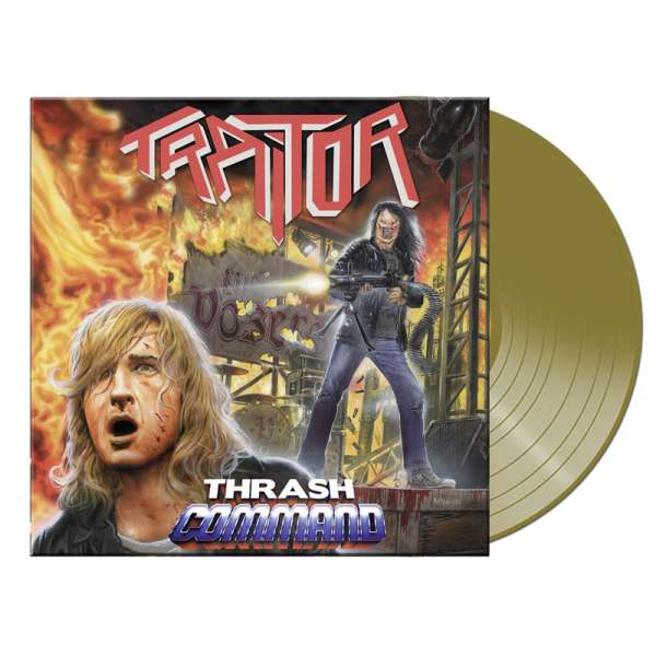 TRAITOR - Thrash Command (Re-Issue) - Ltd. GOLD LP