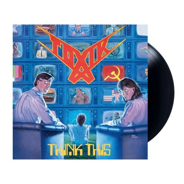 TOXIK - Think This - Ltd. BLACK LP