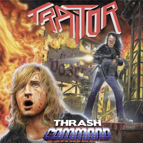 TRAITOR - Thrash Command (Re-Issue) - Digipak-CD (incl. 3 Bonus-Tracks)