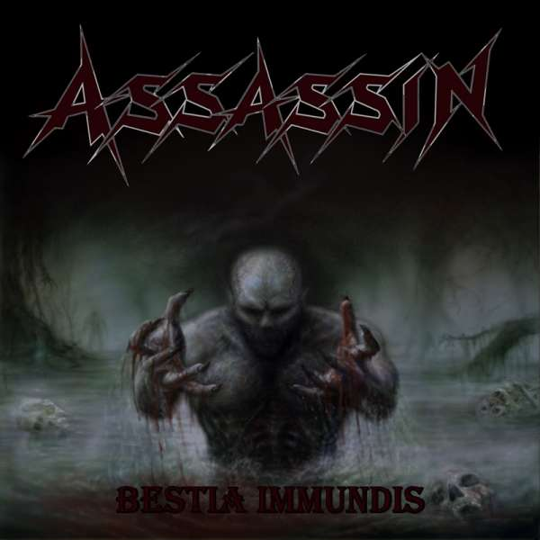 ASSASSIN - Bestia Immundis - Ltd. Gatefold BLUE LP