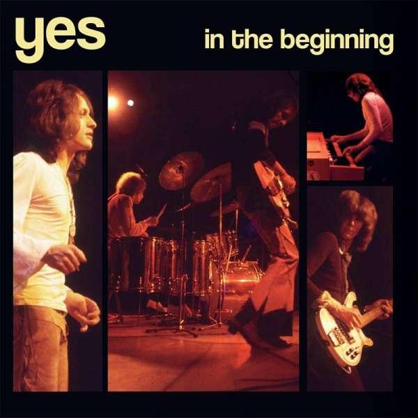 YES - In The Beginning - Ltd. Deluxe Gatefold ORANGE LP