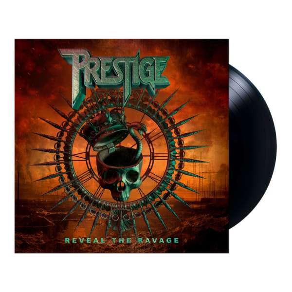 PRESTIGE - Reveal The Ravage - Ltd. BLACK LP